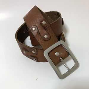 Lucky Leather Belt